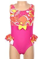 One Piece Swimwear With Attractive Bow
