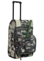 Tank Pattern Luggage Bag
