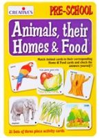 Creatives - Animals Their Homes & Food... 3 Years +, Develops Vocabulary, Memory Skills And Cr...
