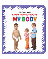 Kiddy Board Book - My Body