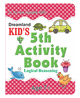 Kid's 5th Activity Book - Logical Reasoning