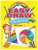 Easy Draw Step By Step Book 1