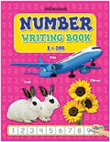 Number Writing Book - 1 to 100