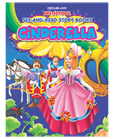 Dreamland - Pre-School See-And-Read Story Books Cinderella