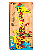 Skillofun My Number Wooden Duck