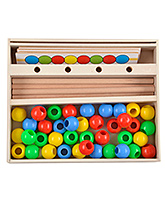 Skillofun - Wooden Beads Pattern Box