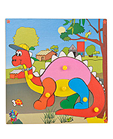 Skillofun - Theme Wooden Puzzle Standard Flamingo - 220 X 220 X 8 Mm