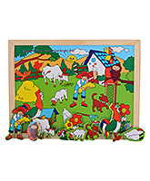 Magnetic Twin Play Tray - Bright And Sunny Day