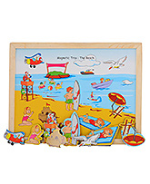 Magnetic Twin Play Tray - The Beach 