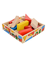 Skillofun Junior Wooden Building Blocks