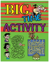 Buy Sterling - Big Time Activity Book Green