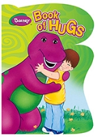 Barney - Book Of Hugs Barney Board Book