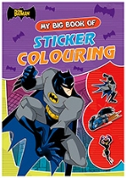 Buy Batman - My Big Book of Sticker Colouring
