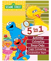 Sterling - Sesame Street 5 In 1 Activity Book
