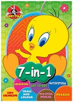 Looney Tunes - 7 In 1 Activity Book
