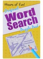 Word Search Puzzle Pad
