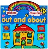 Buy Rainbow Stickers & Colouring Out And About