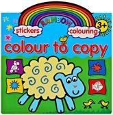 Buy Rainbow Stickers & Colouring Colour To Copy