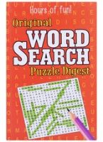 Original Word Search Puzzle Digest - Orange