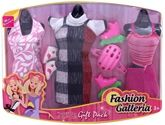 Miss Beautiful - Fashion Galleria Gift Pack 3 Years+, Trendy Outfits For Your Dolls!