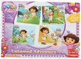 Dora The Explorer 4 In 1 Puzzle 4 Years+, 4 in 1 Puzzle, 30 Pieces, Go on a joyride ...