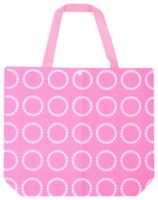 Multi-Utility Bag - White Dotted Circles Pink