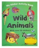 My Sticker Activity Book Wild Animals