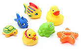 Mee Mee Bath Toys - Set Of 7