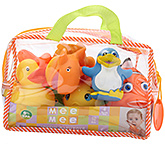 Mee Mee Bath Toys- 10 pcs