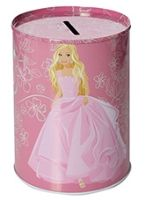 Barbie Coin Bank - Pink Dress