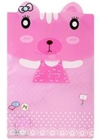 Folder File  -  Cat Print Pink An Efficient Way To Keep Your Documents In Right & S...