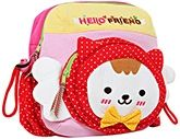 Kids Bag - Cat Hello Friend Print Red Colour