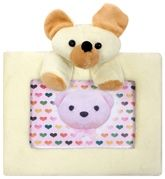 Fab N Funky Teddy Applique Photo Frame