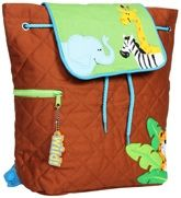 Stephen Joseph - Quilted Back Pack Boy Zoo