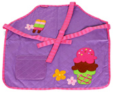 Quilted Apron Ice Cream