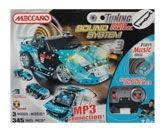 Meccano - Tuning RC MP3 Hook Up Blue Version