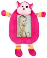 Photo Frame - Monkey Shape Dark Pink