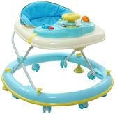 Fab N Funky Baby Walker With Play Tray N Sounds - Blue
