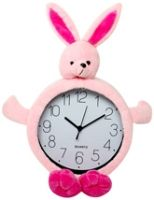 Wall Clock - Rabbit Shape Pink
