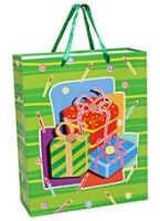 Party Bag - Gift Pack Print Green