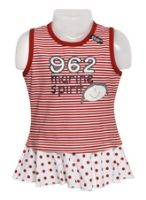 Baby Frock- Red Size 18, 90 Cm, 18 - 24 Months