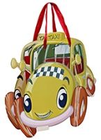 Baby Party Bag - Car Design Yellow