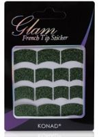 Konad Glam French Tip Sticker - Green