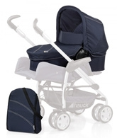 Hauck Pram And Changing Bag - Trio Navy