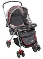 Grey Three Position Pram Easy And Comfortable Pram For Your Baby