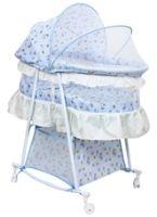 Fab n Funky - Blue Baby Cradle