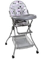 Grey High Chair A Comfortable And Adjustable High Chair
