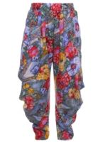 Harem Pants - Flower Print