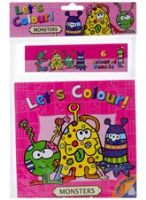 Let's Colour - Monster