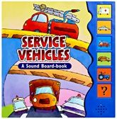 MEGAPS A Sound Board Book Service Vehicles